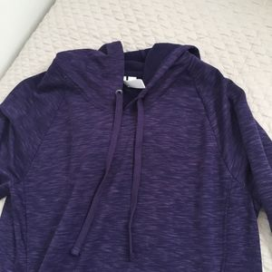 GreenTea Sweaters - green tea purple fleece hoodie d2e3a9e28cc9